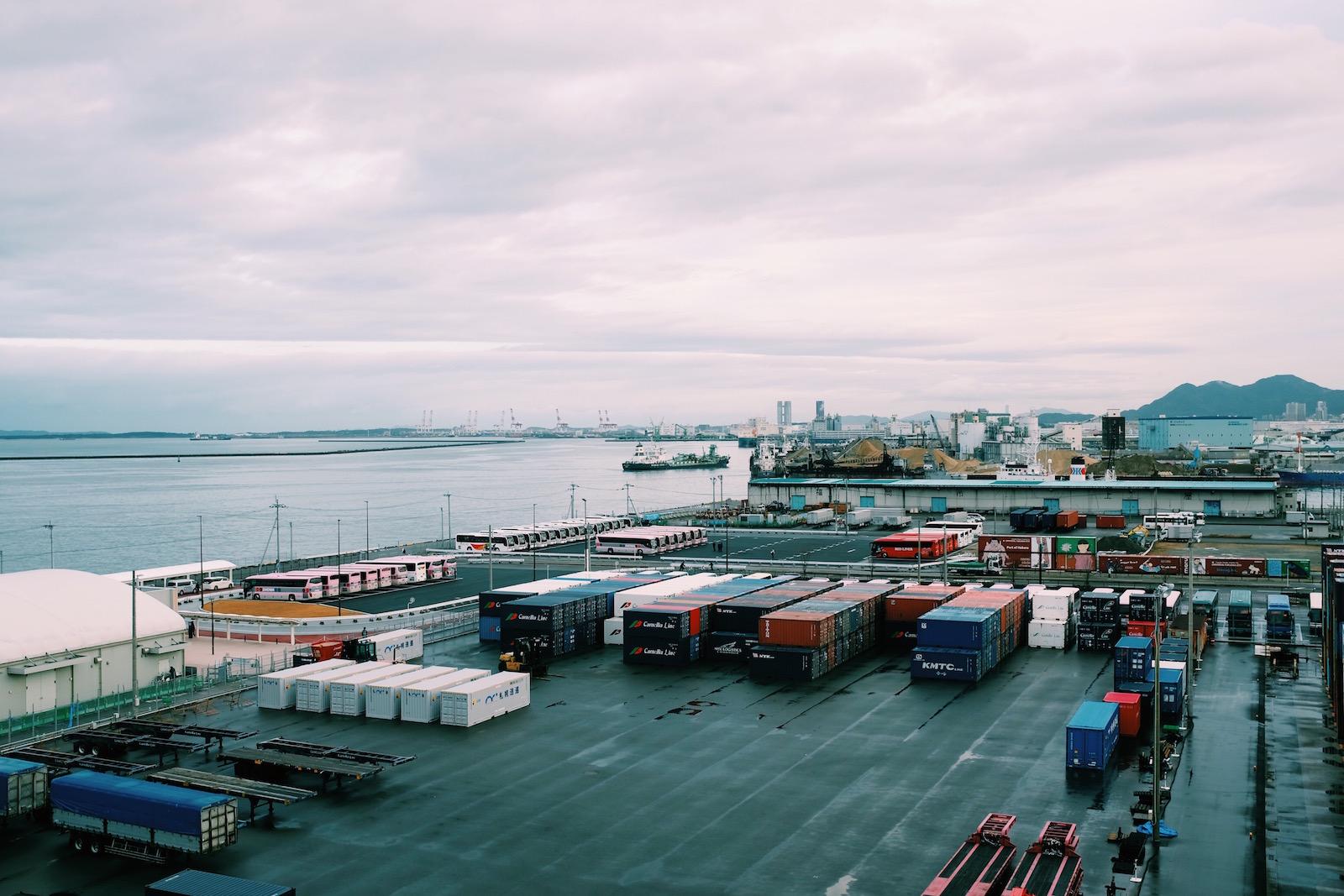 日本福冈港口